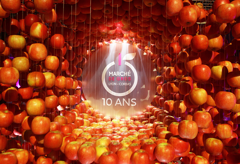10ème anniversaire. Le Marché de Gros Lyon-Corbas en tenue de Gala