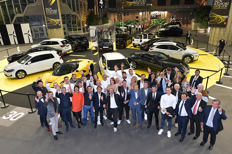 Salon de l'Auto 2019. Diner de Gala des pilotes et des chefs