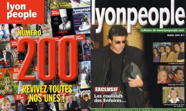 Lyon People n°200. Découvrez le palmarès de nos 201 couvertures !