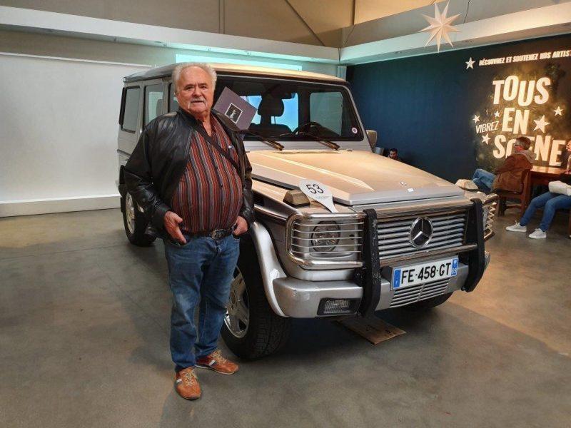 Enchères. Le Mercedes Classe G de Paul Bocuse vendu 62 500 euros