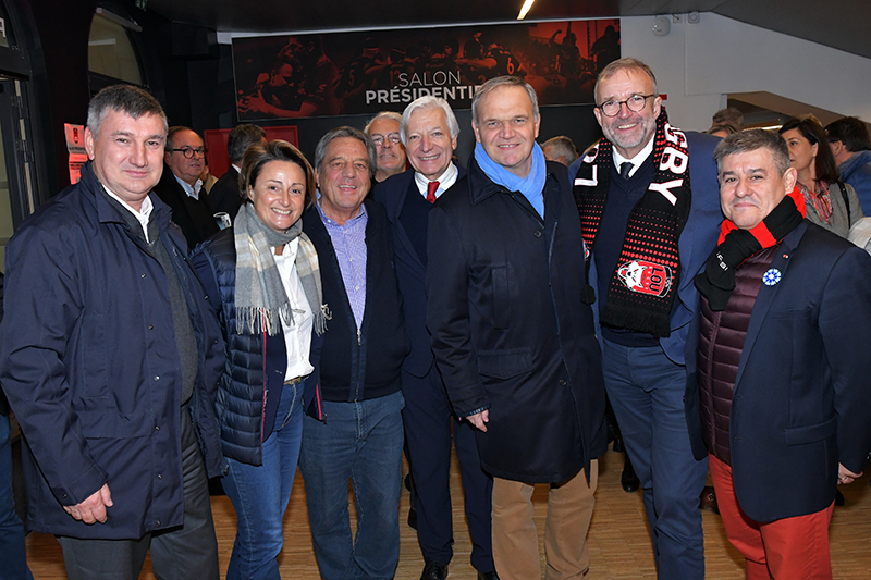 Les tribunes VIP de LOU Rugby – La Rochelle