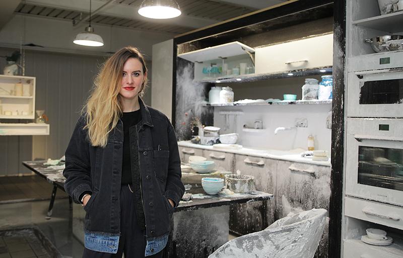 Perene cuisine sa soirée privée à la Biennale de Lyon