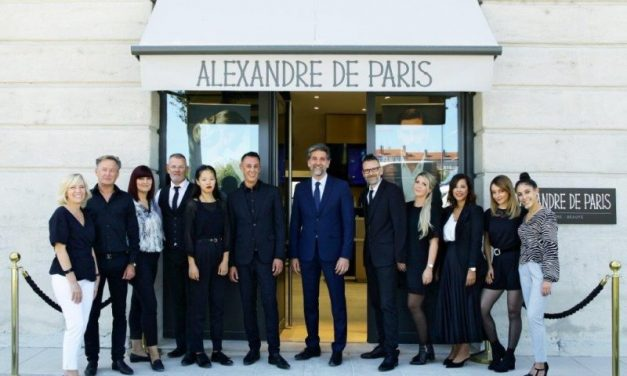 Alexandre de Paris. Le grand nom de la coiffure s'implante à Lyon