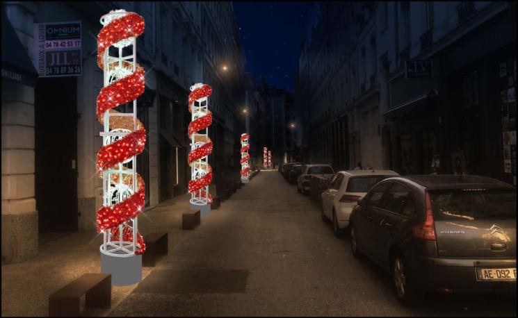 Carré Nord Presqu'Ile. Le Père Noël illumine le centre-ville