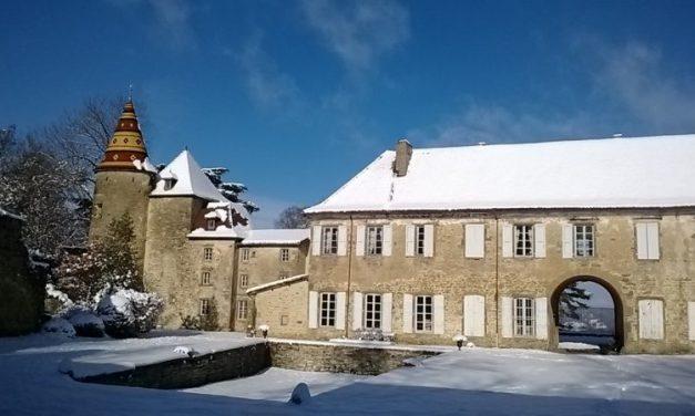 Livres au Château de Vallin. La culture couronnée reine