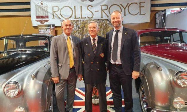 Rolls Royce Bentley Club de Lyon. Baptême à Epoqu'Auto