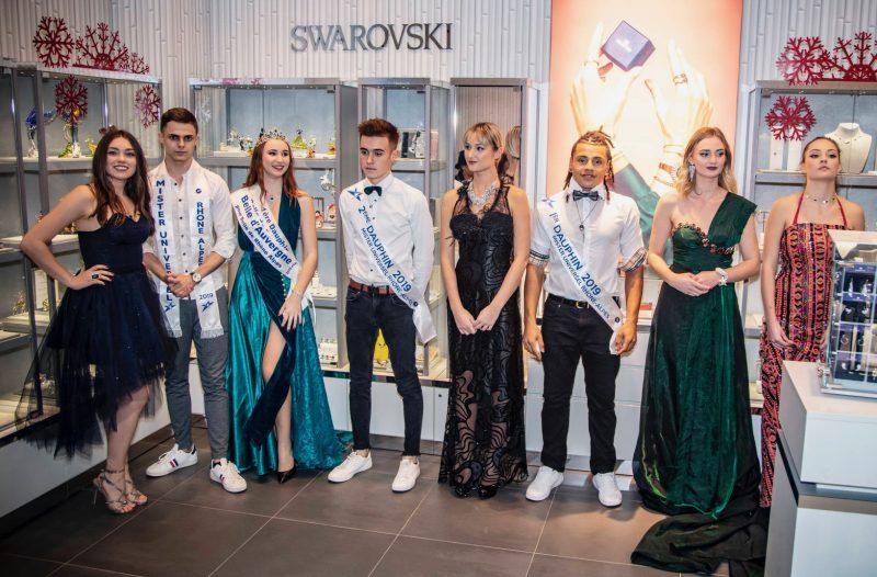 Avec Swarovski, Supdemod fait défiler les marques