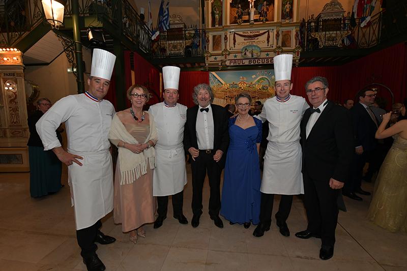 Anniversaire des Gastronomes de Lyon. Un dîner de gala 3 étoiles