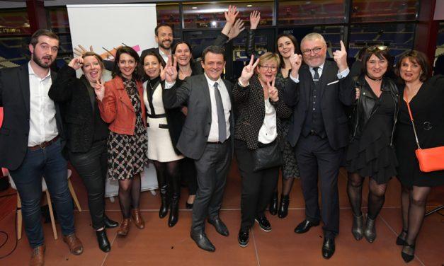 Vœux 2020 du MEDEF Lyon Rhône. Laurent Fiard soutient les réformes