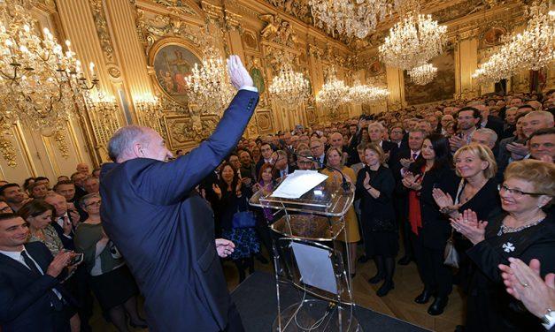 Les derniers vœux de Gérard Collomb en tant que Maire de Lyon