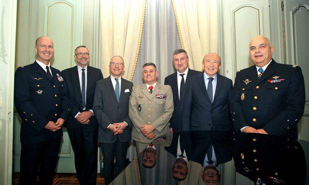 Les vœux pêchus du Gouverneur militaire de Lyon pour 2020