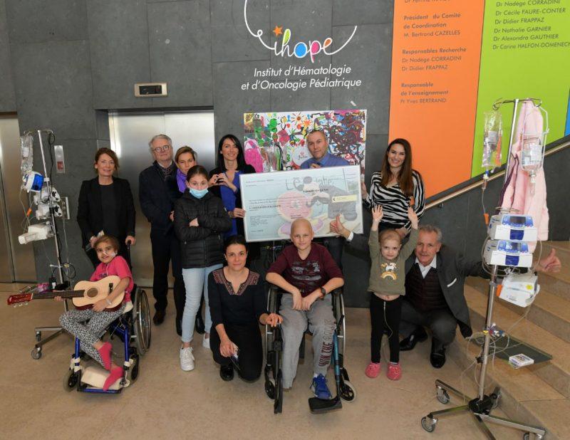 Expo « Les Lyonnais décalés de Lyon ». Fabrice Schiff donne le sourire aux jeunes malades
