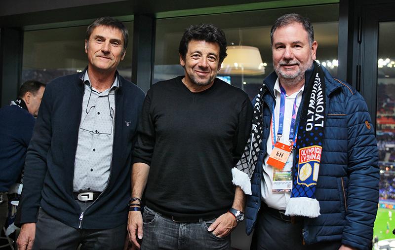 Les tribunes VIP d'OL – Juventus. Les Gones bousculent la Vieille Dame