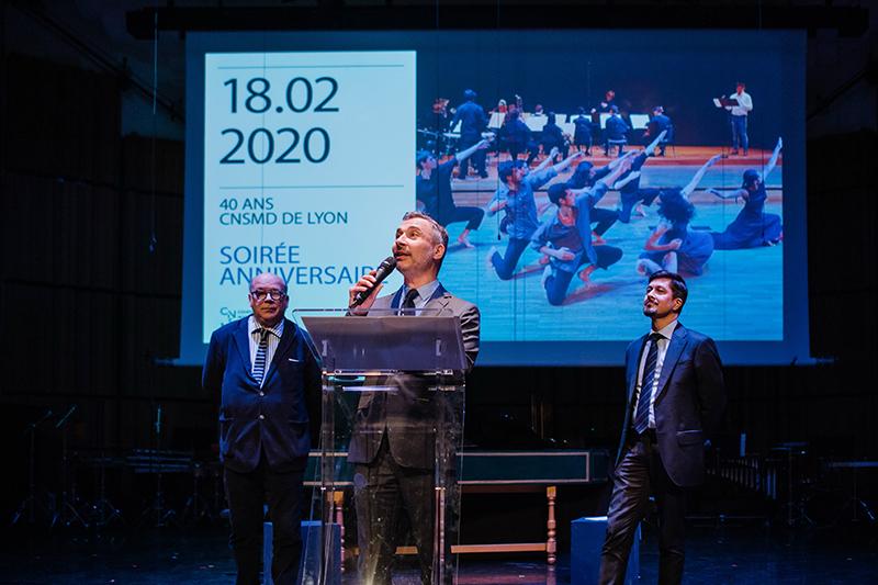 Les 40 ans du Conservatoire National Supérieur de Musique et Danse