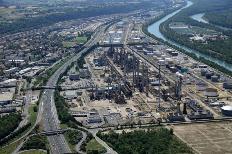 Feyzin. La raffinerie arrêtée pour maintenance