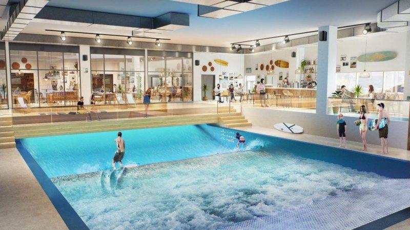City Surf Park. La plus grande vague indoor déferle sur Lyon