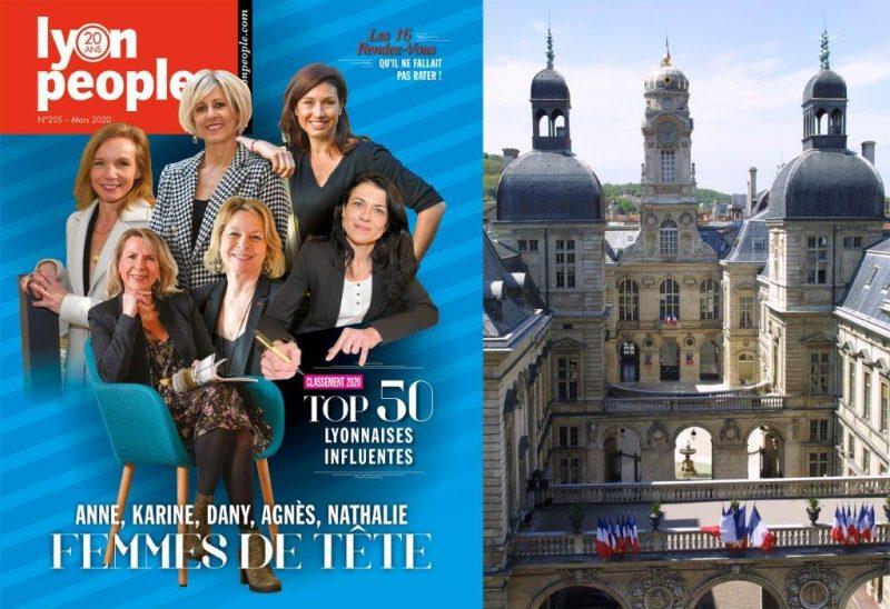 Top 50. Femmes de tête et de pouvoir en couverture de Lyon People