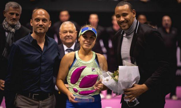 Open 6e Sens. Sofia Kenin soulève le premier trophée