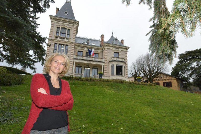 Saint Cyr au Mont d'Or. Christelle Guyot en lutte contre le bétonnage