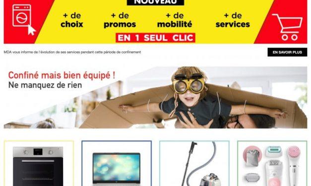 MDA-electroménager.com : Michel Vieira défie les géants du e-commerce