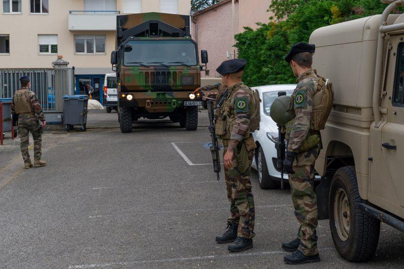 Opération Résilience. Face au coronavirus, l'Armée sur tous les fronts d'Auvergne Rhône-Alpes