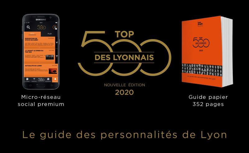 Top 500 des Lyonnais. Le tome 2 de l'année 2020 est en kiosque