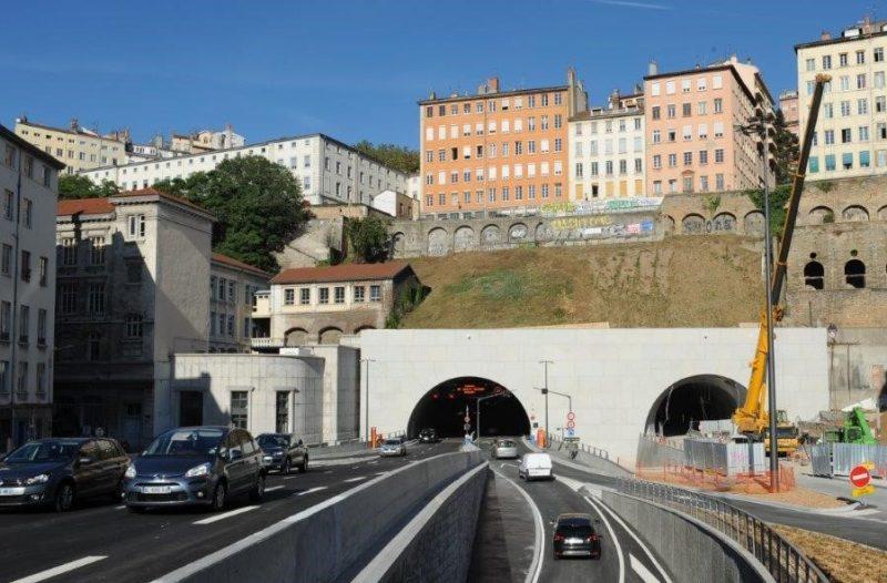 Lyon. Le tunnel de la Croix-Rousse bientôt réduit à une seule voie automobile