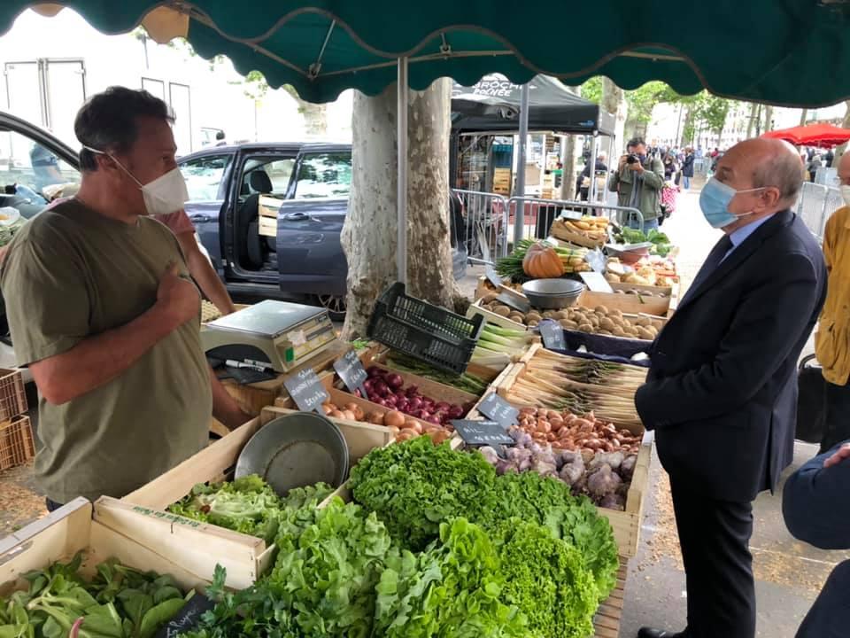 Lyon coronavirus. Réouverture des petits marchés alimentaires -