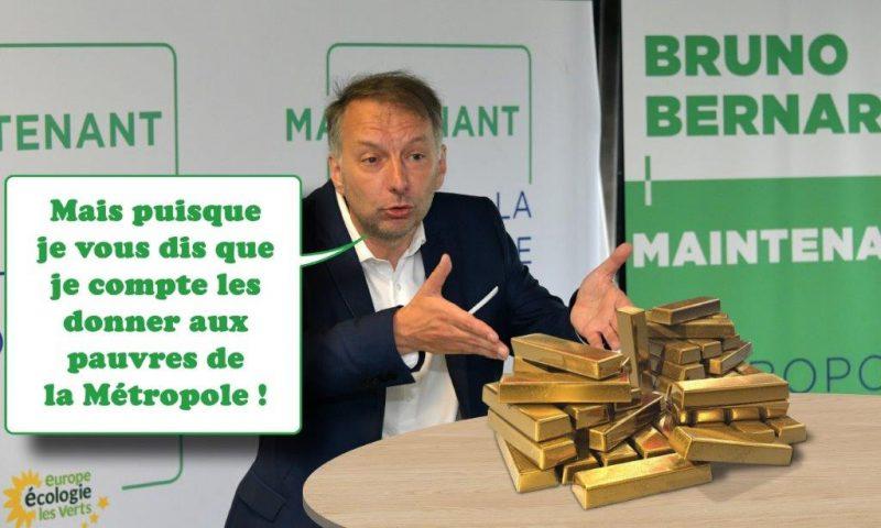 La fortune cachée de Bruno Bernard. Que fait le président écologiste de ses millions ?