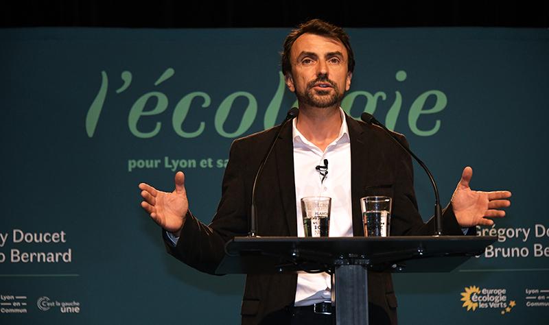La première victoire du Vert Grégory Doucet : être rejeté par le monde socio-économique lyonnais