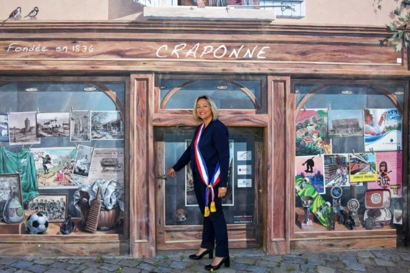 Sandrine Chadier. « Être maire de Craponne, c'est une belle aventure »