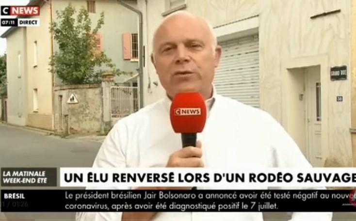 Insécurité. Thomas Daudré-Vignier, élu de Toussieu, volontairement percuté lors d'un rodéo