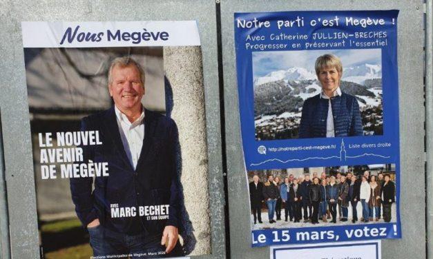 Élections municipales de Megève. Marc Béchet débouté