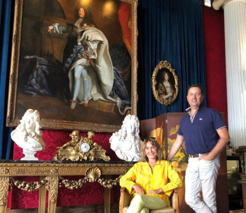 Negresco. La magnifique restauration du tableau de Louis XIV est l'œuvre d'un Lyonnais