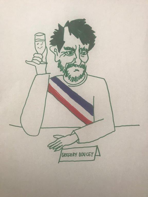 Grégory Doucet. Le vert de trop ?