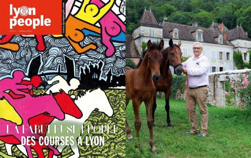 Le nouveau magazine Lyon People est à savourer au triple galop