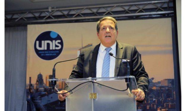 Présidence de l'UNIS Lyon-Rhône. Le bail de Patrick Lozano renouvelé