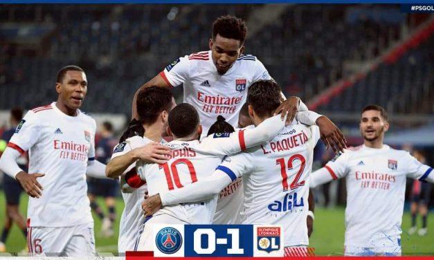 PSG 0 – Lyon 1. Un OL en capitale