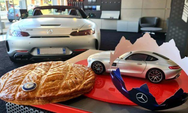 Galette des rois. Goûtez aux sensations Mercedes-Benz à Lyon