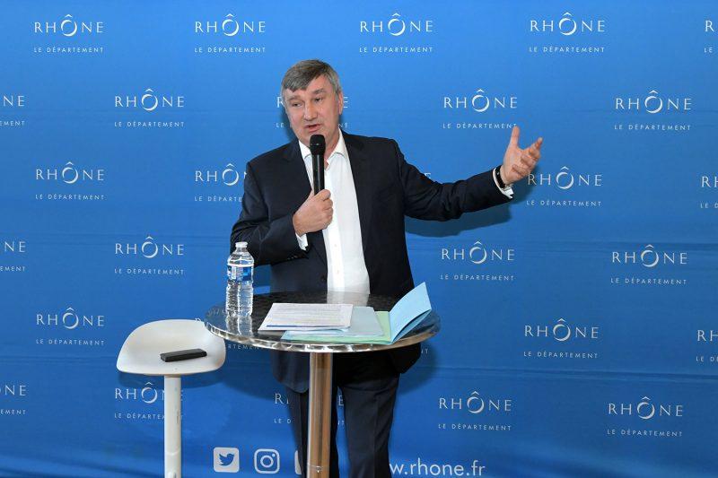 Lyon. Christophe Guilloteau : « Amazon est le bienvenu dans le département du Rhône »