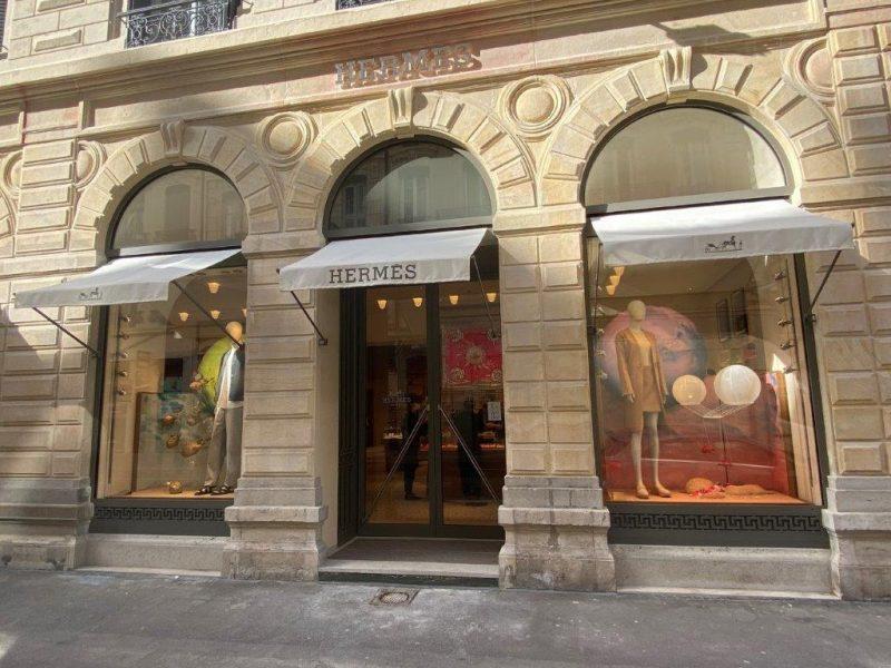 Lyon. Réouverture de la boutique Hermès après un gros lifting
