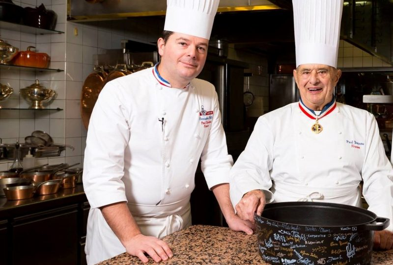 Restaurant Paul Bocuse. Le chant du départ pour le chef Christophe Muller
