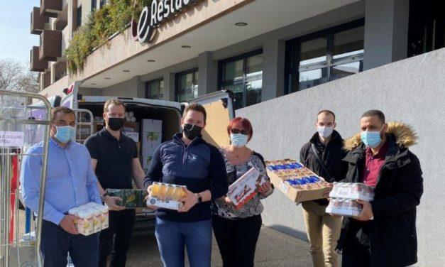 Opération solidaire à Lyon. Louvre Hôtels Group vient en aide aux étudiants
