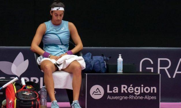 Lyon. Triste fin de parcours pour Caroline Garcia à l'Open 6ème Sens