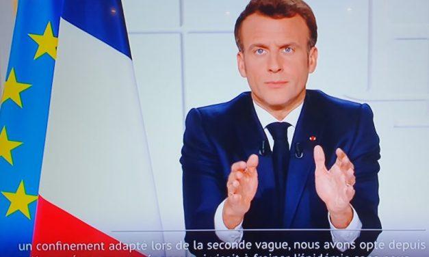 Covid19. Emmanuel Macron jongle entre fermetures et promesses de réouverture
