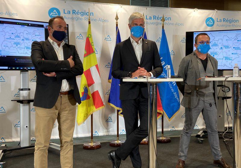 Covid-19. Laurent Wauquiez investit 12 millions d'euros dans les centres de vaccination d'Auvergne-Rhône-Alpes