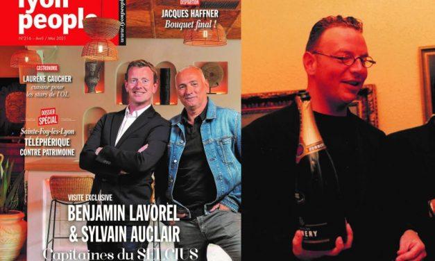 Magazine Lyon People de mai. Jet-setteurs d'hier et d'aujourd'hui