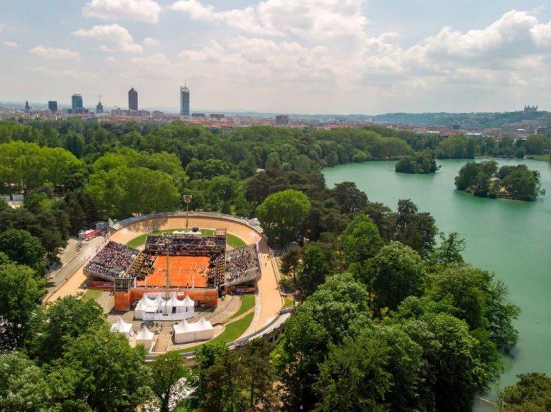 Image Open Parc de Tennis à Lyon. Plateau doré, retour gagnant en 2021 ?