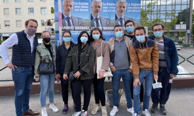 Élections régionales. 30 jeunes élus apportent leur soutien à Laurent Wauquiez