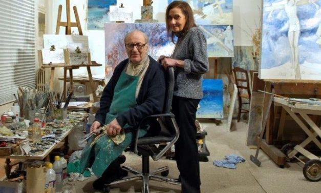 Disparition à Lyon. Le peintre Jean Fusaro perd sa muse Jacky